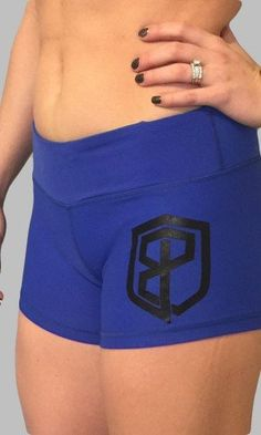 Renewed Vigor CrossFit-style Shorts from Born Primitive (Blue) Fitted workout shorts in a form fitting supplex material- feel of cotton with the benefits of adv Crossfit Shorts, Workout Shorts, Athletic Outfits, Athletic Clothes, Fitness Inspiration, Primitive, Gym Shorts Womens, Stylish, Swimwear