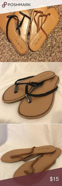 Women's Charles sport 2 pack of sandals size 7/8 Women's  Charles Sport Brandy Style Flip Flop Bundle     Size 7/8    One is Brand new and the other is preowned.    If you have any questions please message me! Thanks!     Check out my other items for sale! charles sport Shoes Sandals