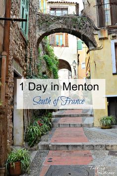 Day Trip from Nice Idea: Near the border of Italy, Menton boasts colored buildings & views over the sea. See What to Do in Menton for 1 Day.