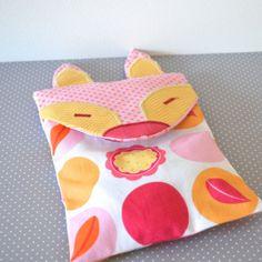 Heating Bag Rice Fox Gift Y By Orangeandcoco 24 00