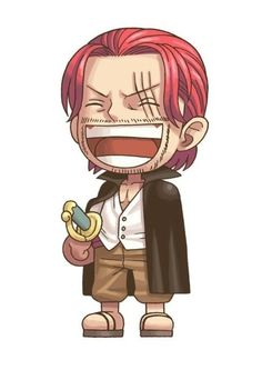 "Shanks ""le Rouge"" Pirate ~ Style : Chibi ~ ⚓️ One Piece ⚓️ One Piece Manga, One Piece Drawing, Anime Chibi, Red Hair Shanks, One Piece Zeichnung, One Piece Seasons, One Piece Tattoos, One Piece Wallpaper Iphone, Es Der Clown"