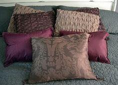 No Sew Placemat Pillows!