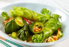 EPiServer Commerce, EPiServer CMS, netthandel og digitale løsninger - Geta AS Cabbage Rolls, Spring Rolls, Pickles, Cucumber, Spinach, Salads, Stuffed Peppers, Vegetables, Recipes