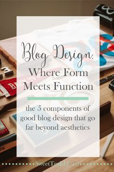 The perfect blog design is where form meets function, and there isn't a one-size-fits-all design, but there are a few things every blogger can consider when creating the perfect blog design for their needs.