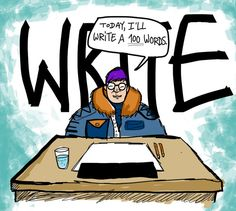 Write 3000 words every day, even when you don't feel like it