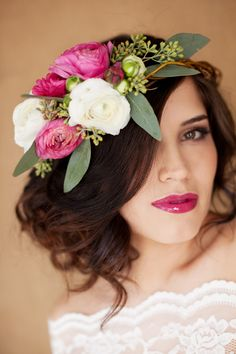 Fresh flowers, Hair and Makeup by Steph, Amber Weimer, Janae Frazer
