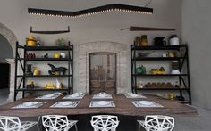 El Montero Restaurant Interior Branding by Anagrama, Mexico.