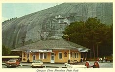 Old train station at Stone Mountain Park, Stone Mountain, GA http://ow.ly/bCIvX