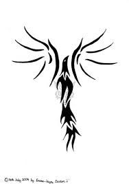 Image result for tribal phoenix tattoo