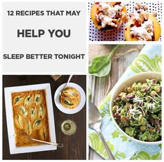 12 Recipes That May Help You Sleep Better Tonight