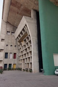 Palace of Justice in Chandigarh by Le Corbusier