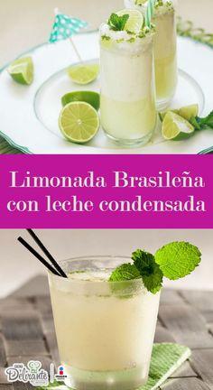 receta de limonada brasileña con leche condensada   CocinaDelirante