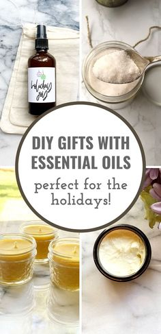 Need a few ideas for christmas gifts? Make it a handmade christmas with these diy christmas gifts with essential oils. Your loved ones will really appreciate the extra special touch of a diy gift with essential oils. All of these diy holiday gift ideas are easy to make and personalize!