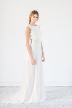 Beba's Closet Fading White LookBook Foto: Sara Lobla Modelo: Almudena Cañedo Vestido de novia, boda, novias diferentes, Belén Barbero, Beba´s Closet