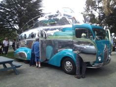 Quot Streamlined Quot Vintage Car And Camper Built In The 1930s