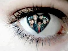 In my eyes you're my everything but in your eyes I'm just another fan- to one direction from me