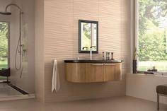 Wavy Tile Bathroom   Google Search