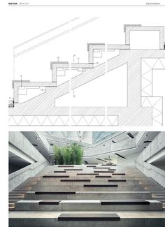 #ClippedOnIssuu from DETAIL 04/2014 Treppen, Rampen, Aufzüge · Stairs, Ramps, Lifts · Escaliers, Rampes