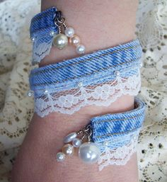 denim bangle