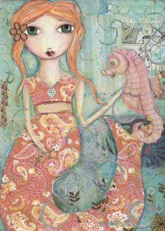 i am lovin' this woman's artwork!!