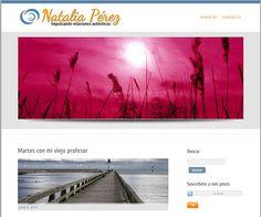 Web de Natalia Pérez: natalia-perez.com