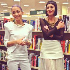 #GIRLBOSS party - Sophia & Nicole Richie! <3