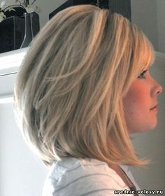стрижка послойно на средние волосы: 22 тыс изображений найдено в Яндекс.Картинках