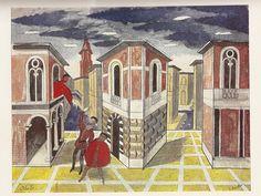 Othello by Edward Bawden, illustration c1935