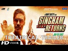 Trailer of one the most awaited movie Singham Returns is out now...