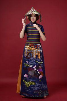 Top 10 Hoa hậu Việt Nam Tố Như làm nàng thơ áo dài hình ảnh 1