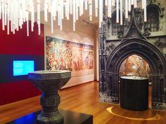 Cliente: Museo della Civiltà Cavalleresca - Interior Decoration - Stampa e Allestimento con TATTOO_WALL - Castiglia - Saluzzo #interiordecoration #museum #digitalprint