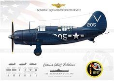SB2C 'Helldiver' VB-87