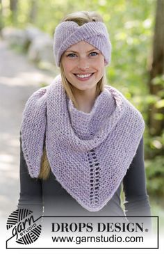 Sweet moments / DROPS - free knitting patterns by DROPS design Free knitting patterns and crochet patterns by DROPS Design Record of Knitting Yarn spinning, weaving and stitching jobs. Finger Knitting, Easy Knitting, Knitting Stitches, Knitting Yarn, Drops Design, Crochet Baby Hat Patterns, Knitting Patterns Free, Prayer Shawl Patterns, Circular Knitting Machine