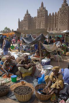 Market of Djenne by Sara y Tzunki