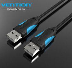 Vention cables macho a macho cable de datos usb 2.0 cable de extensión usb cale usb 2.0 conector de cables de ordenador