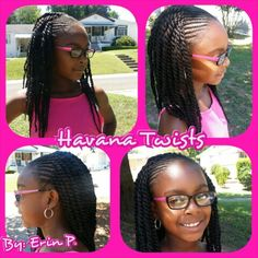 Havana Twists and Cornrows Naturallie.Mie by Erin P.  (205) 401-0726 Www.styleseat.com/erinpippen