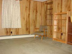 Living room in farmhouse on 47 acre farm