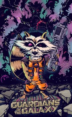 Guardians of the Galaxy by Mr Flurry for Poster Posse Project #9