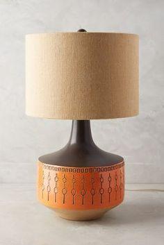 Demelza Lamp in the Mid Century Modern Style