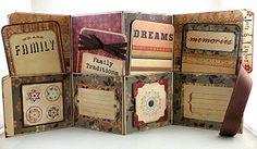 file folder mini book *maybe for cash system organiziation*