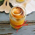 Lemon Meringue Jar Cakes