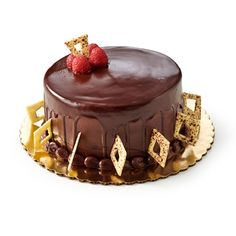 Extreme Chocolate Raspberry Cake