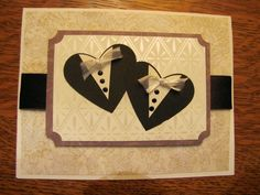 Mr. & mr. wedding card for the happy gay couple! heathers attic