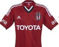 Beşiktaş red soccer jersey