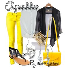 Daughter Of Apollo Casual Outfit, Cabin 7, Percy Jackson ...