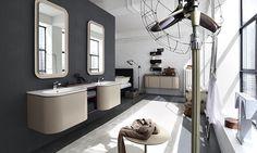 Cerasa by Lime Black Suede Bathroom Design Collection