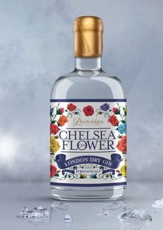 Partridges releases anniversary Chelsea Flower gin