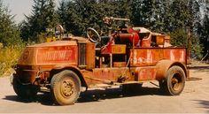 1927 Bulldog Mack 1000-GPM Pumper....Seattle FD...