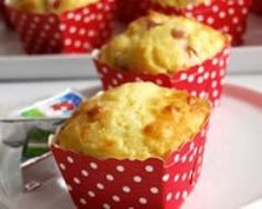 Petits cakes jambon et fromage
