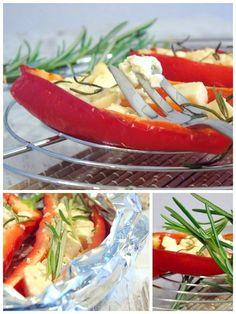 Egal ob vom Grill oder aus dem Ofen, gegrillte Paprika mit Feta und Rosmarin ist absoluter Gemüse-Traum. Nicht nur für Vegetarier!